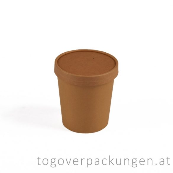 """Deckel für 500 ml  """"Soup-To-Go"""" Suppenbecher / 25 Stück"""
