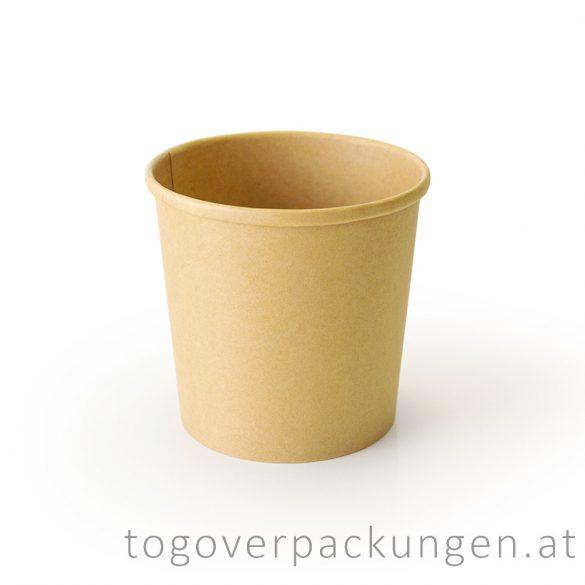 """""""Soup-To-Go"""" Suppenbecher 375 ml, Full-Kraft, 90 mm / 25 Stück"""