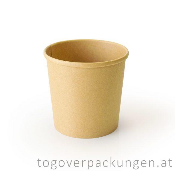 """Soup-To-Go"" Suppenbecher ""SIENA"", 450 ml, Full-Kraft, 115 mm / 25 Stück"