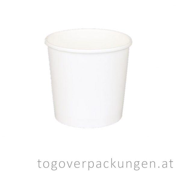 """Soup-To-Go"" Suppenbecher, 500 ml, weiß / 50 Stück"