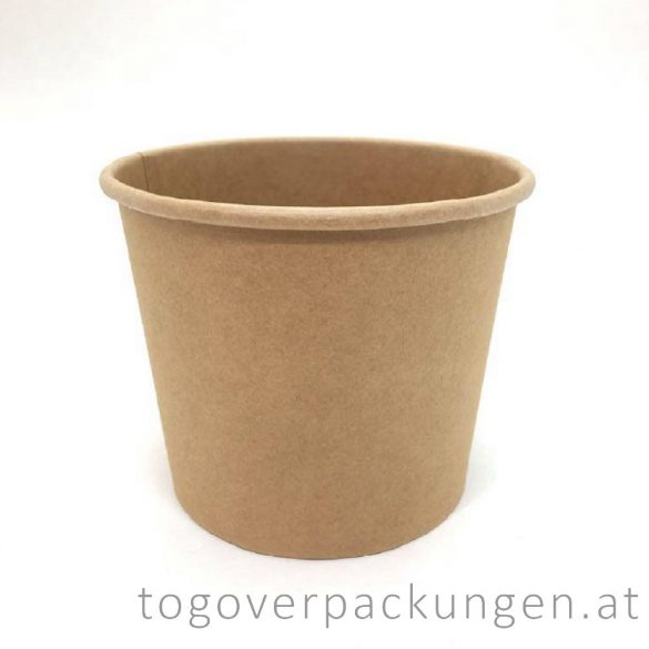 """Soup-To-Go"" Suppenbecher ""SIENA"", 750 ml, Full-Kraft, 116 mm / 50 Stück"