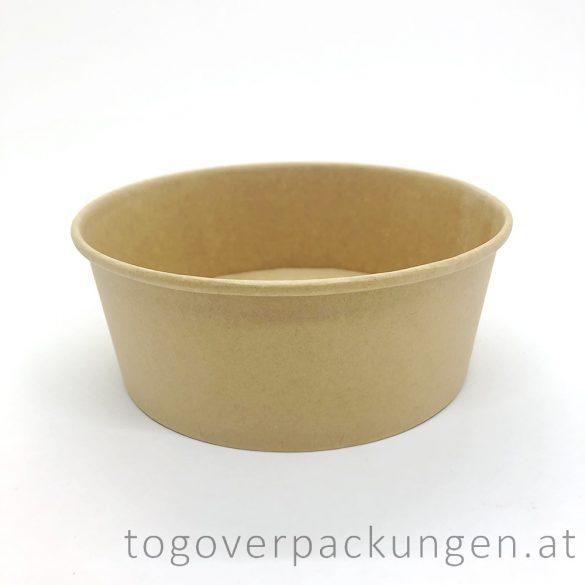 Kraftkarton-Schale 1300 ml / 50 Stück