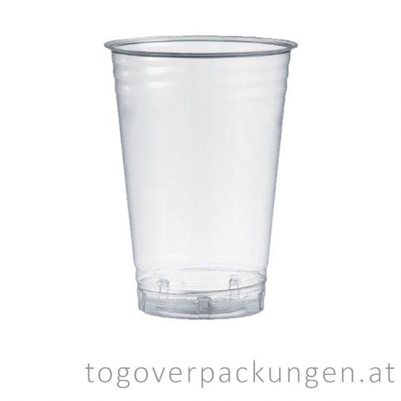 PLA Shake-Becher, 500 ml / 50 Stück