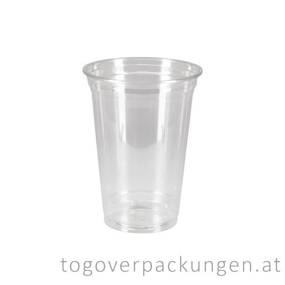 Shake-Becher, 400 ml, PET / 50 Stück