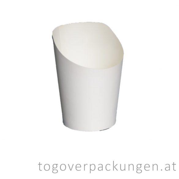 Snack Pappbecher, 200 ml / 75 Stück