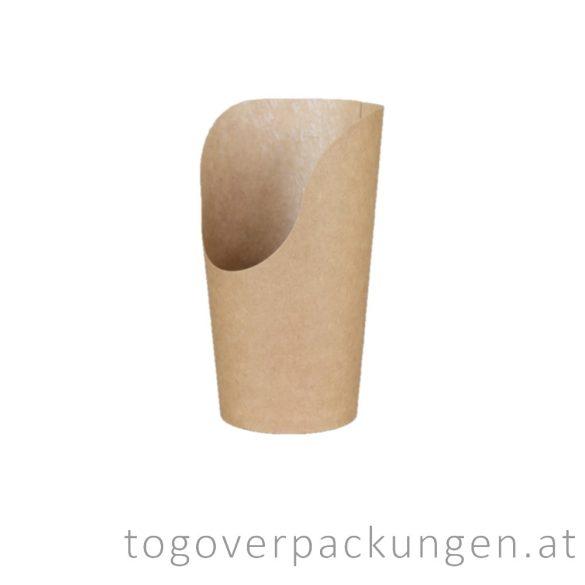 Snack Pappbecher, 400 ml / 25 Stück