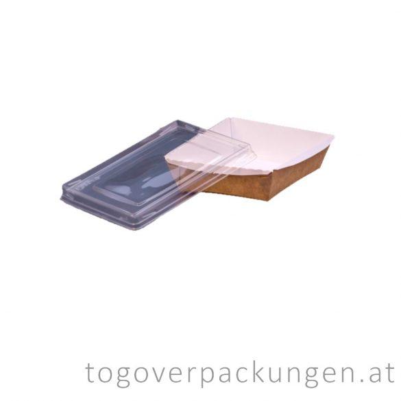 Salatschale - quadratisch - mit Deckel, 800 ml / 25 Stück