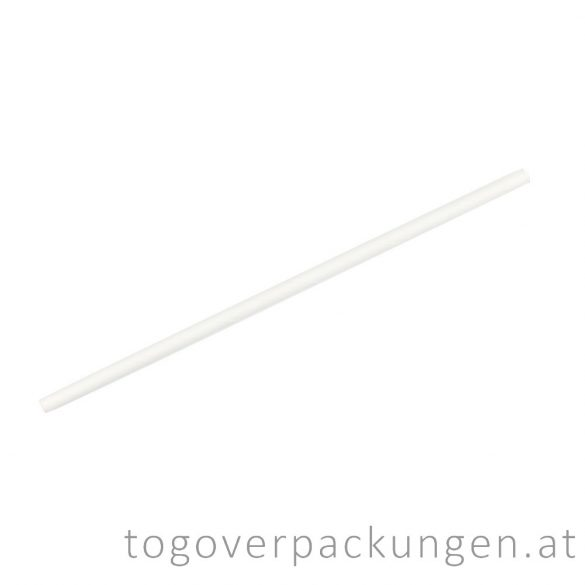 Abbaubare Strohhalme aus Papier - einzeln verpackt / 200 Stück