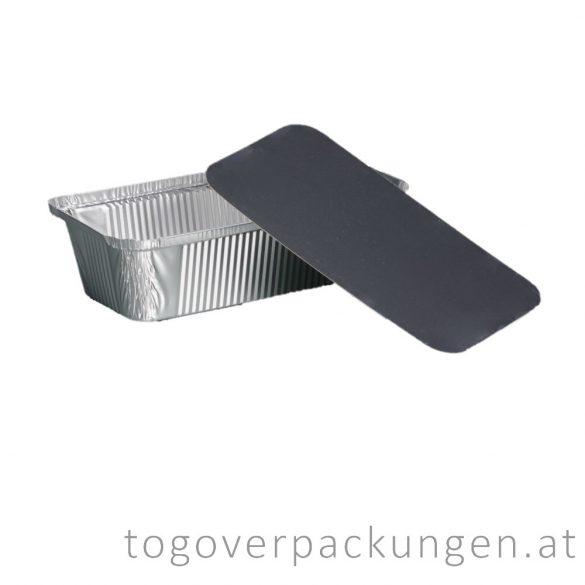 Deckel für 900 ml Aluschale / 100 Stück