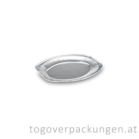 Servierplatte Alu, für 3 Personen / 10 Stück