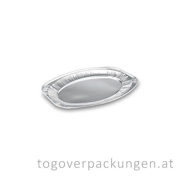 Servierplatte Alu, für 5 Personen / 10 Stück