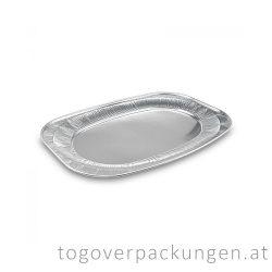 Servierplatte Alu, für 10 Personen / 10 Stück