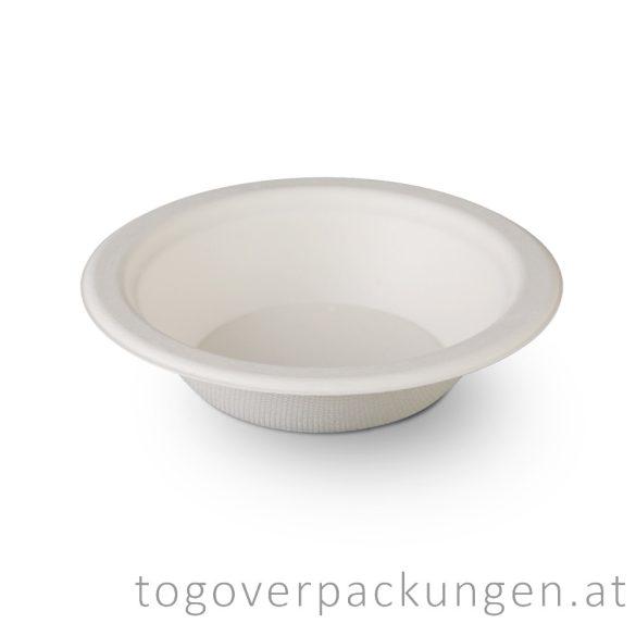 Kompostierbar Zuckerrohr Suppenteller, 500 ml / 125 Stück