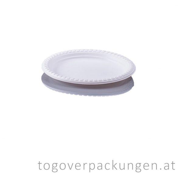 Kompostierbare CPLA Teller, 160 mm / 50 Stück