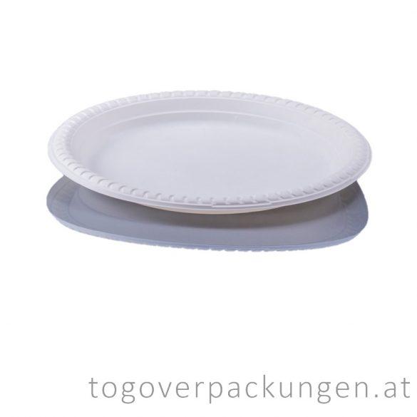 Kompostierbar CPLA Teller, 230 mm / 50 Stück