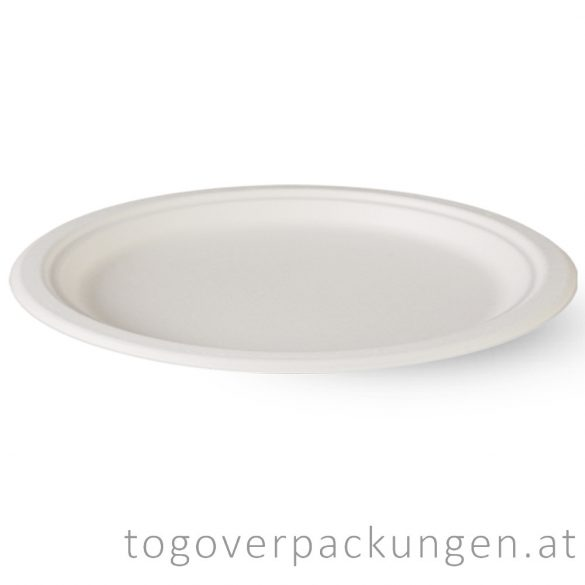 Zuckerrohr-Servierplatte für 3 Personen / 125 Stück