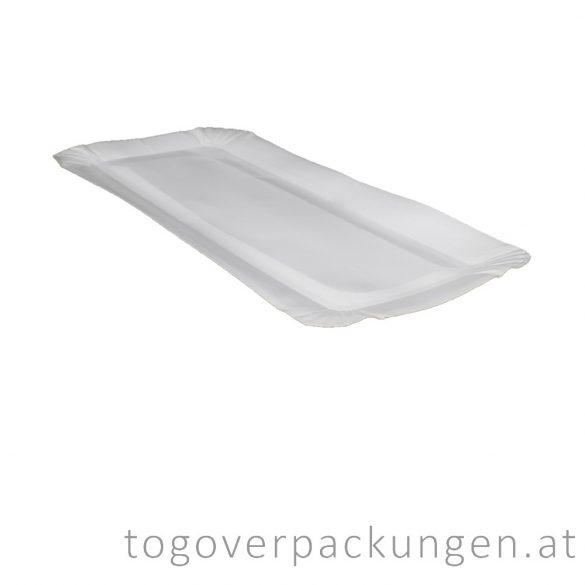 Pappschalen für Fisch - riesengroß / 100 Stück