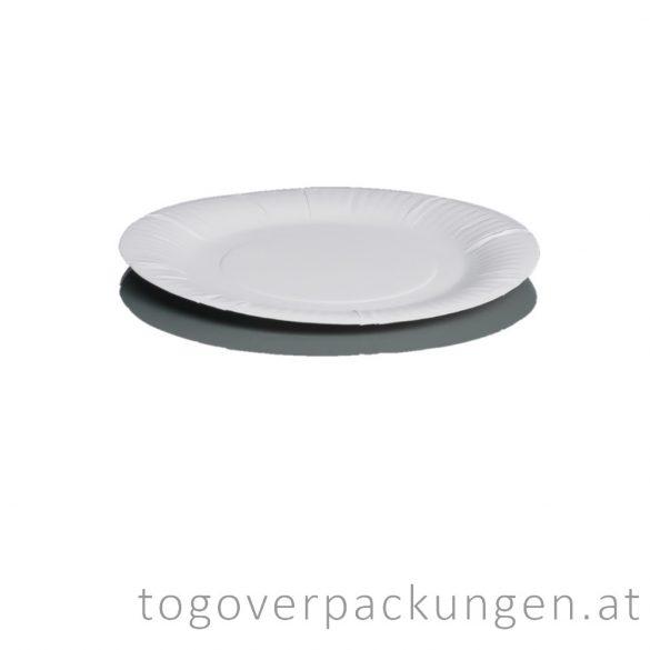 Pappschalen - rund, 200 mm / 100 Stück