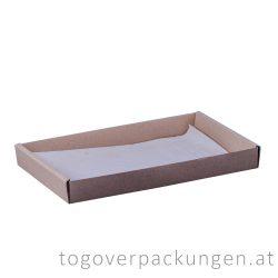 Food Tray - mittel, 259 x 164 x 30 mm / 200 Stück