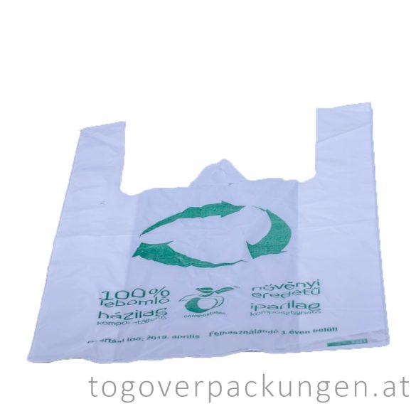 Kompostierbare Tasche / 100 Stück