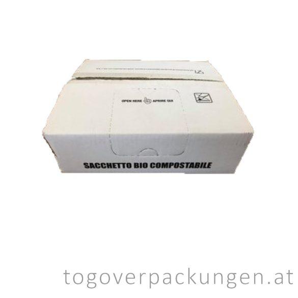 Kompostierbare Tasche mit Spender / 500 Stück