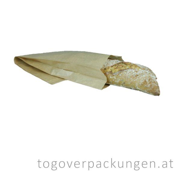 Papierbeutel - Baguette, 120 x 360 mm, Kraft / 1000 Stück