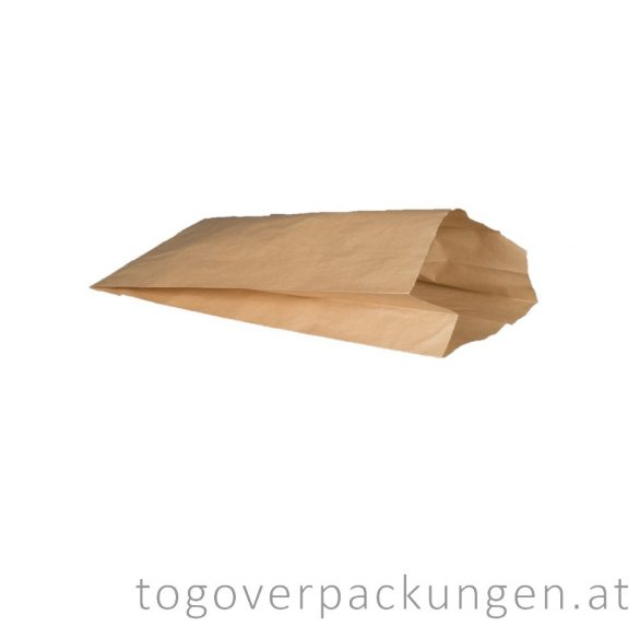 Papierbeutel, 190 x 355 mm, 1,5kg, Kraft / 1000 Stück