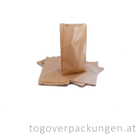 Papierbeutel, 220 x 430 mm, 2kg, Kraft / 1000 Stück